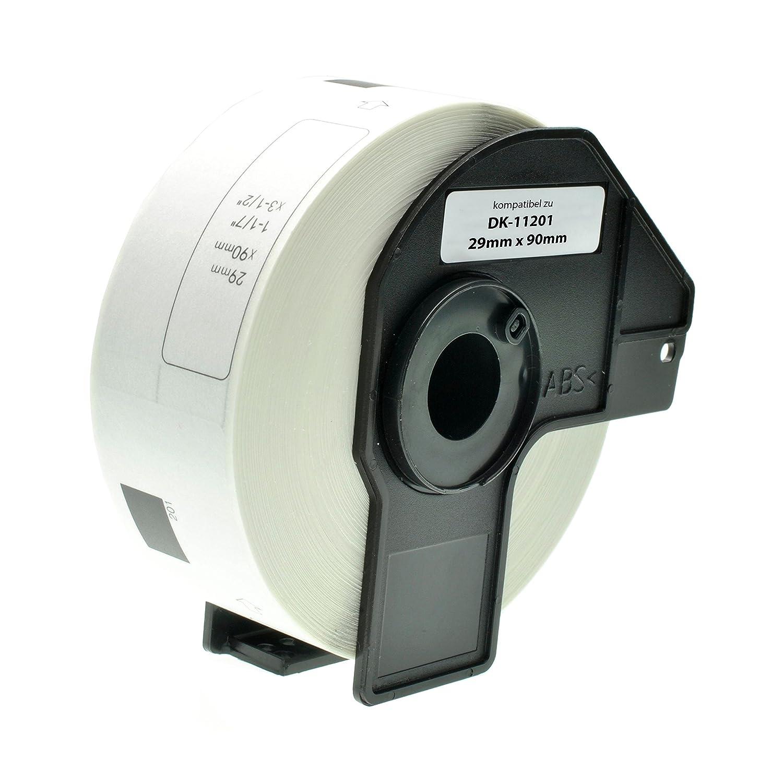 29 x 90 mm Logic-Seek Adressetiketten f/ür Brother DK-11201 4 Pack 400 St/ück