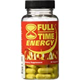 Full-Time Energy Pills - Fat Burners - Best Natural Energy Booster Weight Loss Supplement that Really Works Fast for Both Men and Women (30 Capsules)
