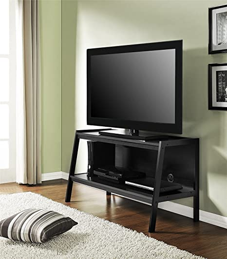 low priced 9ac3b fc0fb Amazon.com: Alltra Premium TV Stand Entertainment Console ...