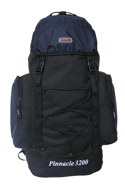 Amazon.com   Medium Internal Frame Camping Hiking Backpack (Navy ... 5f40b754ba