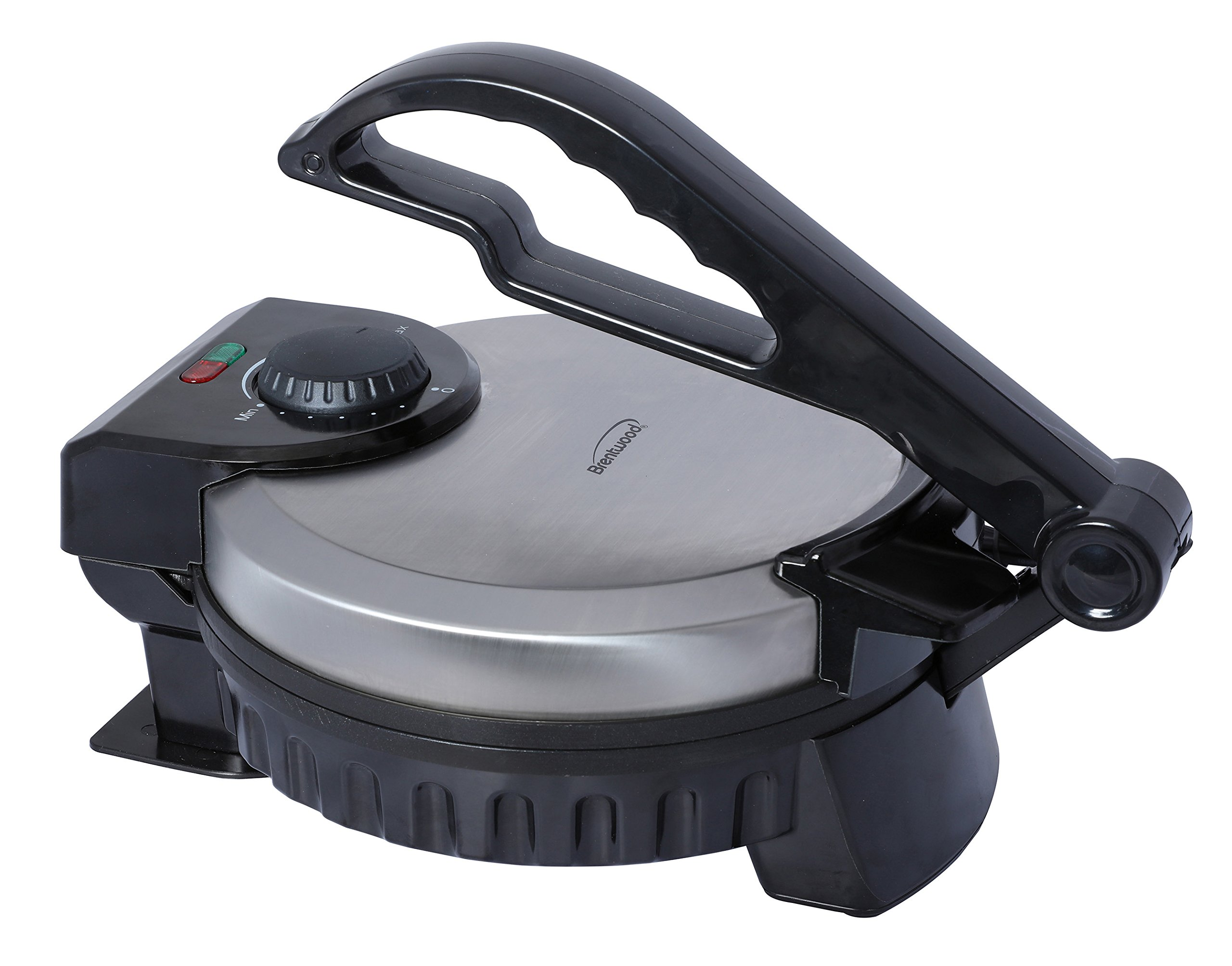 Brentwood TS-127 Stainless Steel Non-Stick Electric Tortilla Maker, 8-Inch by Brentwood