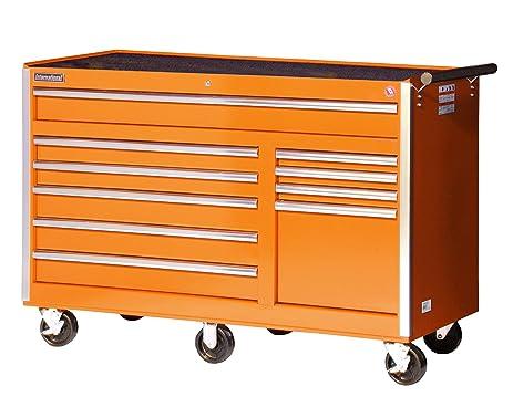 Amazon.com: International VRB-5610OR 56-Inch 10 Drawer Orange Tool ...