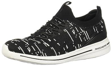 Skechers 12661/BKW Slip-on Schuhe Damen
