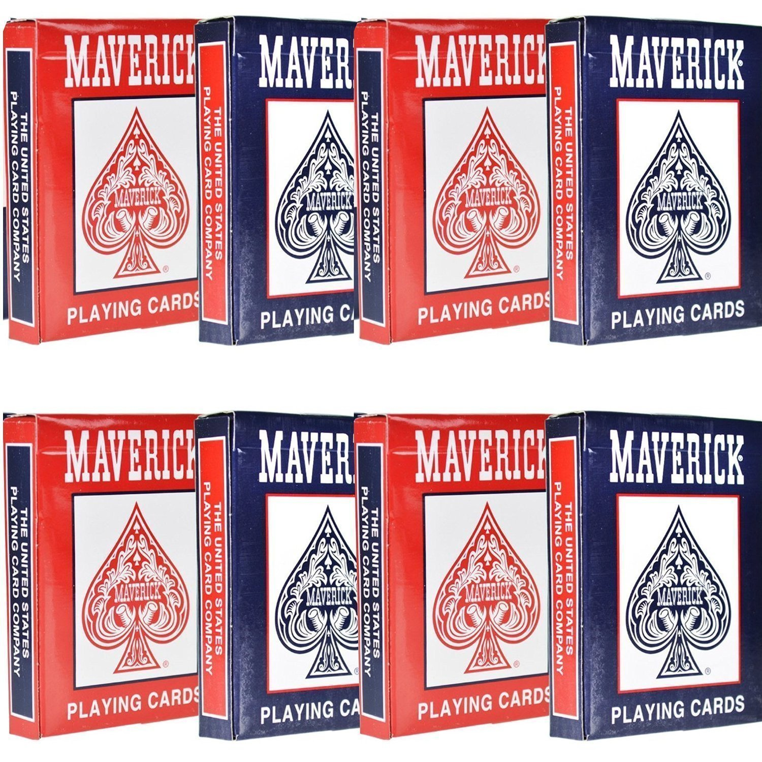 Amazon.com: Maverick 8 Decks of Playing Cards: Sports & Outdoors