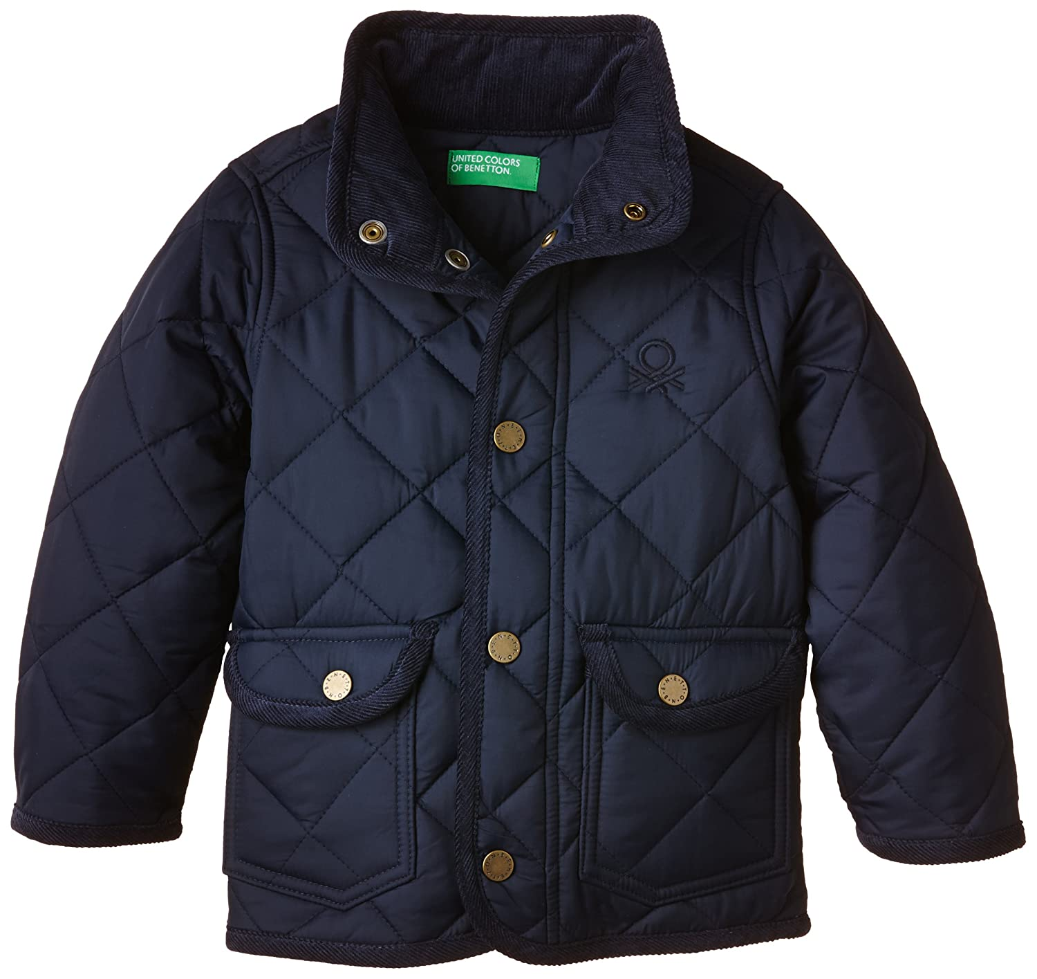 cc03fbd1f24d United Colors of Benetton Boy s 2DKB534W0 Quilted Jacket
