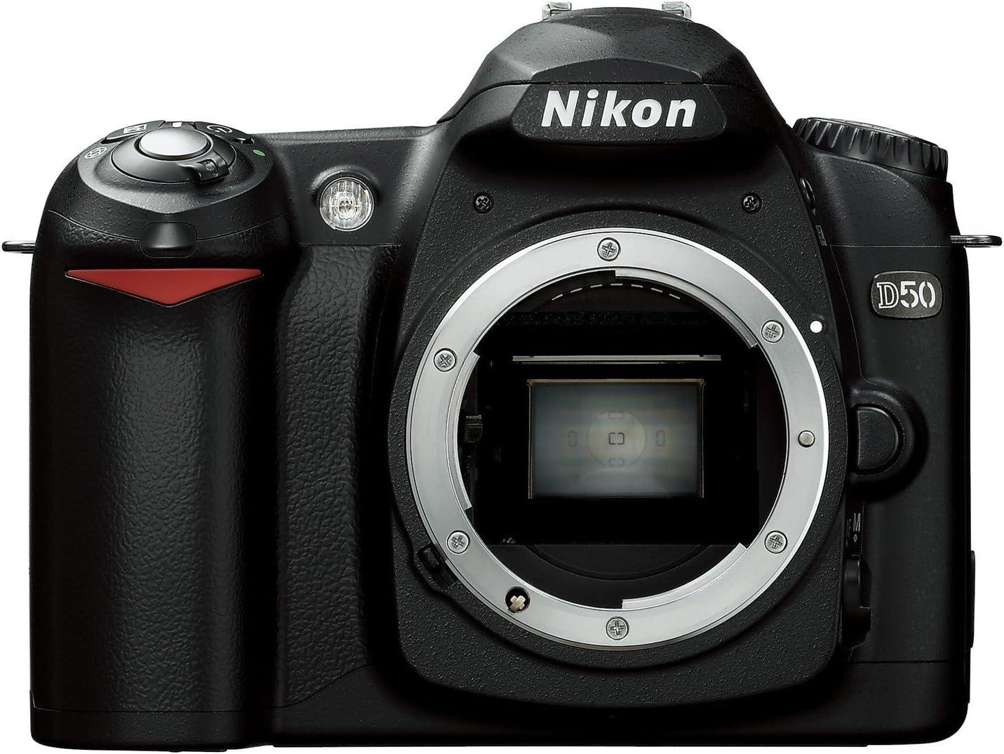 Nikon D50 Slr Digitalkamera Gehäuse Schwarz Kamera