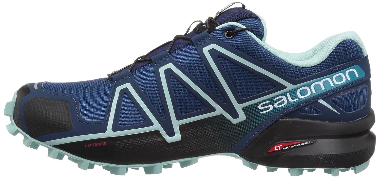 Salomon Women's Speedcross 4 W Trail Runner B073JXDCF7 8.5 M US|Poseidon