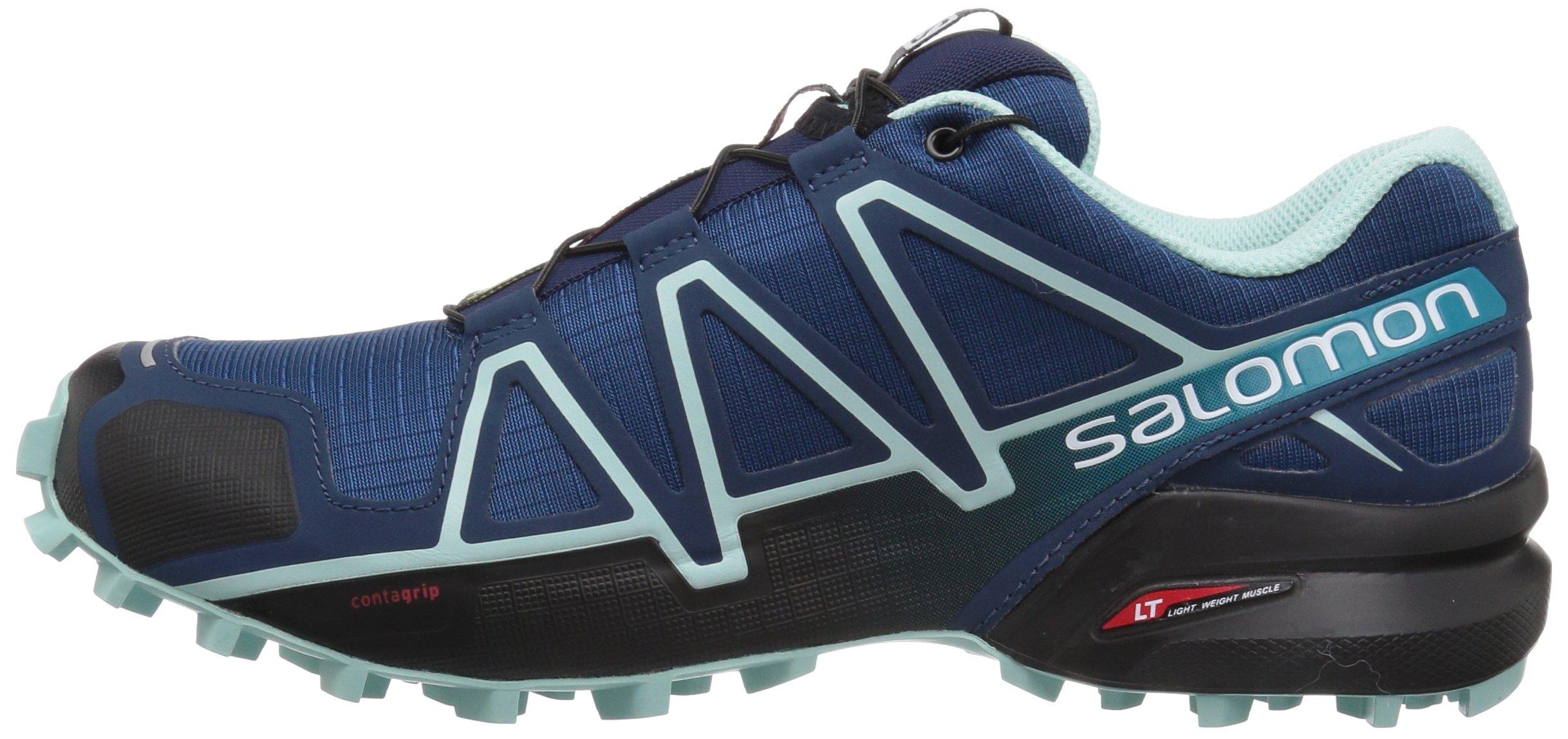 130ed4c71a7c Salomon Women s Speedcross 4 W Trail Running Shoe Poseidon 5.5 M US -  L40243100-Q587-5.5 M US   Trail Running   Clothing