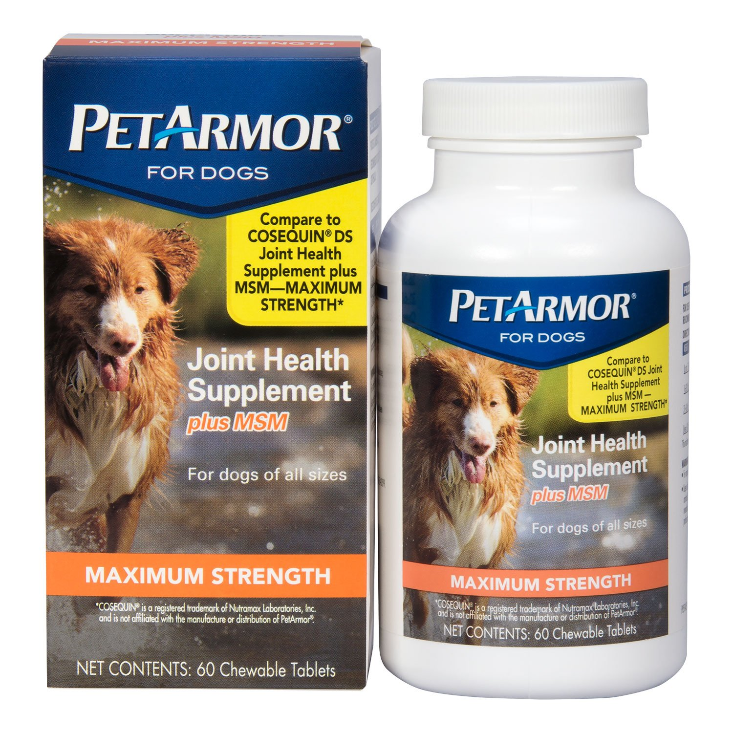 PetArmor Joint Health Maximum for Dogs, 60 count