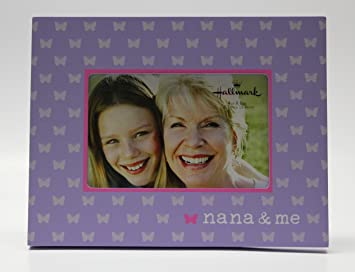 Amazoncom Hallmark Nana Me 4x6 Photo Frame Single Frames Baby