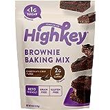 HighKey Snacks Keto Brownie Food Mix - Chocolate Chip Fudge - Low Carb Sweets & Treats - Gluten Free, No Sugar Added Dessert