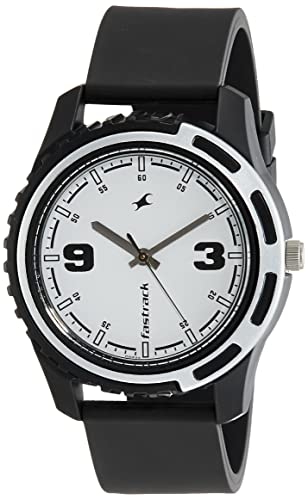 9285c68d34b Buy Fastrack Casual Analog White Dial Men s Watch -NJ3114PP01C Online at  Low Prices in India - Amazon.in