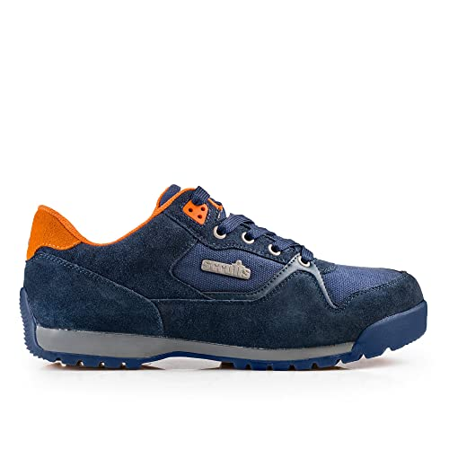 Scruffs HALO 2 Safety Trainers Navy Men/'s Work Boots Steel Toe Cap Sizes 7-12