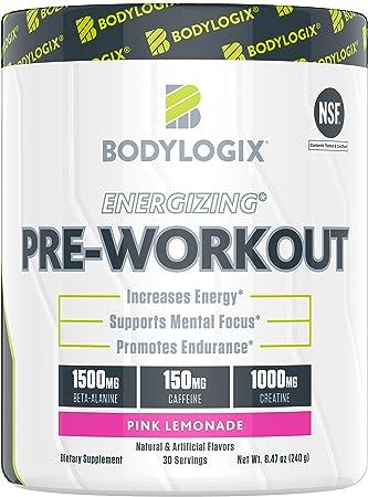 Vitamins & Dietary Supplements Energizing Preworkout Pink Lemonade 30 Servings Health & Beauty