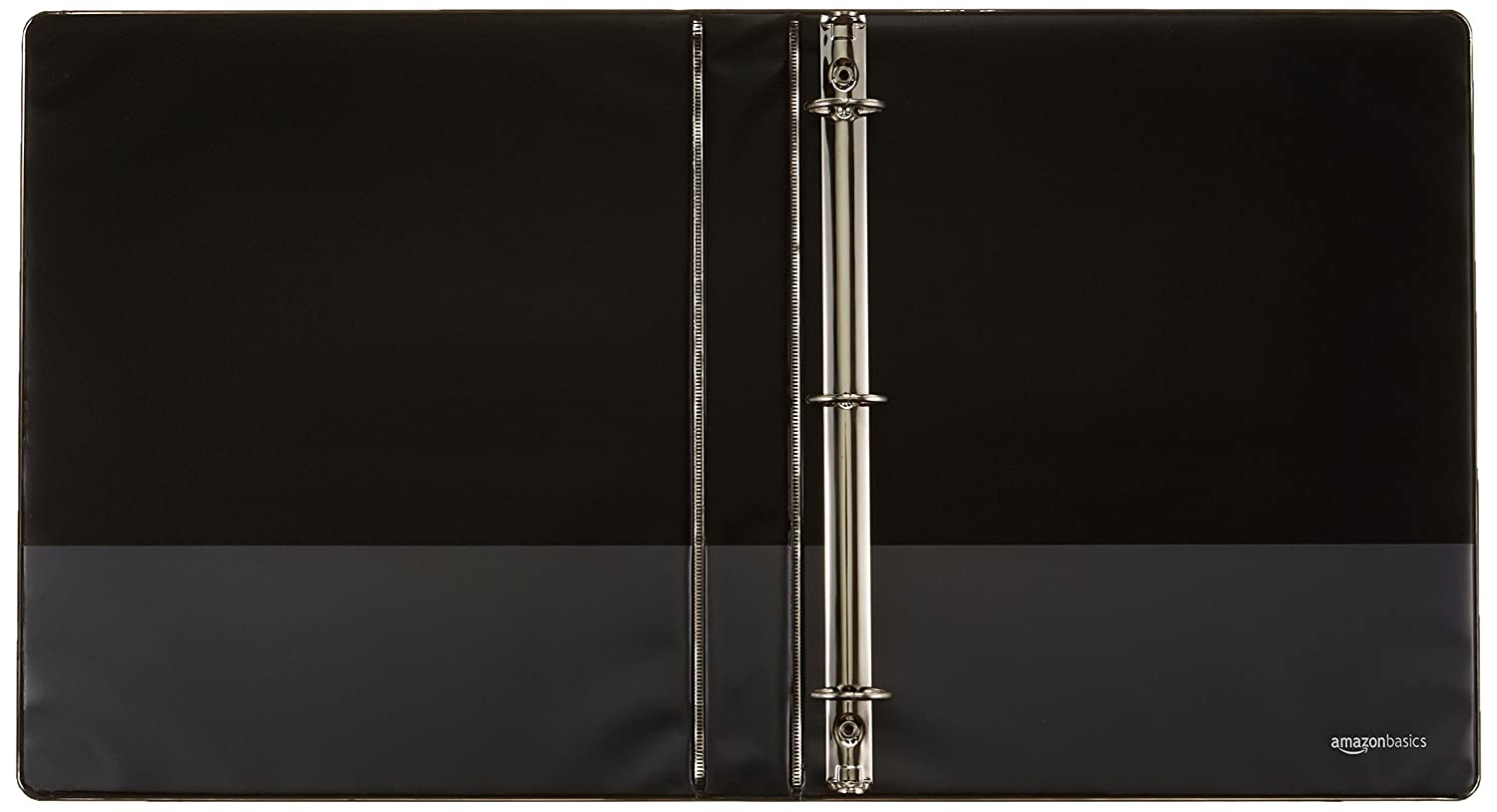 Amazonbasics 3 ring binder 1 inch 4 pack black : amazon.ca