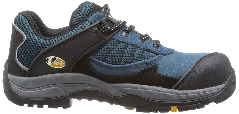 Size 03 Cobalt Blue V12 Pitstop S1 Comfort Fit Safety Trainer
