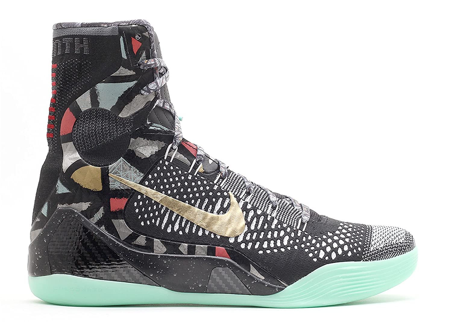 info for 18888 bf47a Amazon.com   Nike Kobe IX Elite Devotion Men s Basketball Shoes  Black Metallic Gold-White 630847-002   Basketball