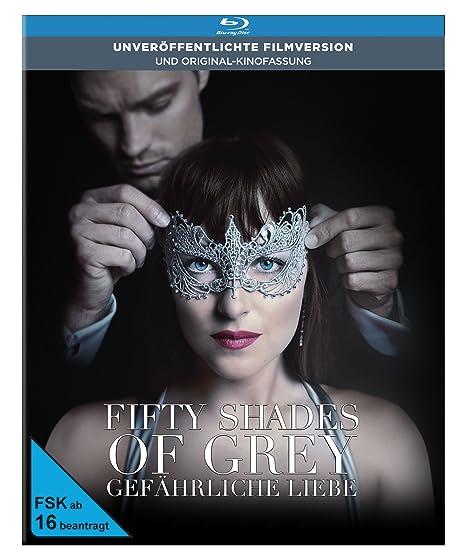 Fifty Shades of Grey 2 - Gefährliche Liebe - Limited Digibook Edit. (+DVD) [Blu-ray]