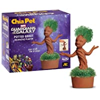 Chia Potted Groot Decorative Pottery Planter, Easy to Do and Fun to Grow, Novelty...