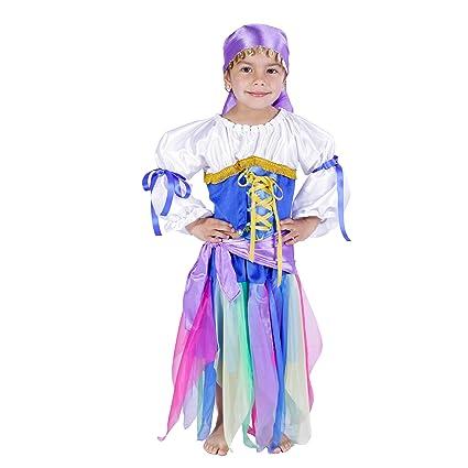 Disfraz Zíngara infantil Carnaval (Varias tallas): Amazon.es ...