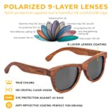 Wooden Sunglasses Polarized for Men and Women