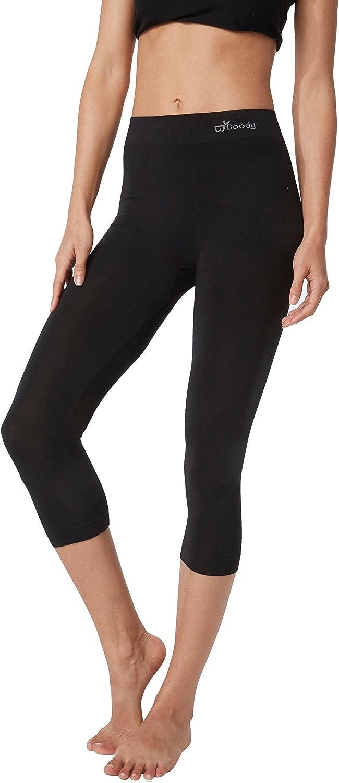 Boody Body EcoWear Womens Mid Legging Soft Mid-Calf Layering Tight