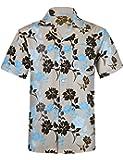BOJIN アロハシャツ メンズ 通気速乾 UVカット 半袖 柄 カジュアル プリント 超軽量 夏服