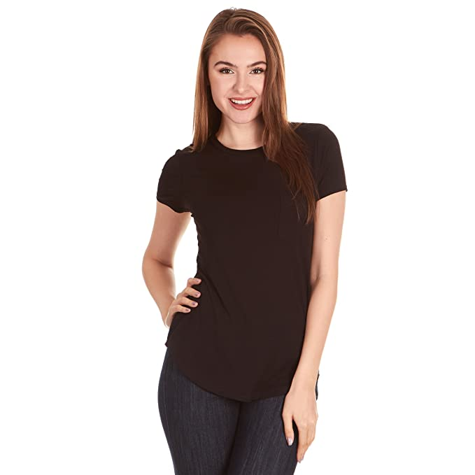264a8597a0a X America Crew Neck Short Sleeve Junior and Plus Size T Shirts for Women w