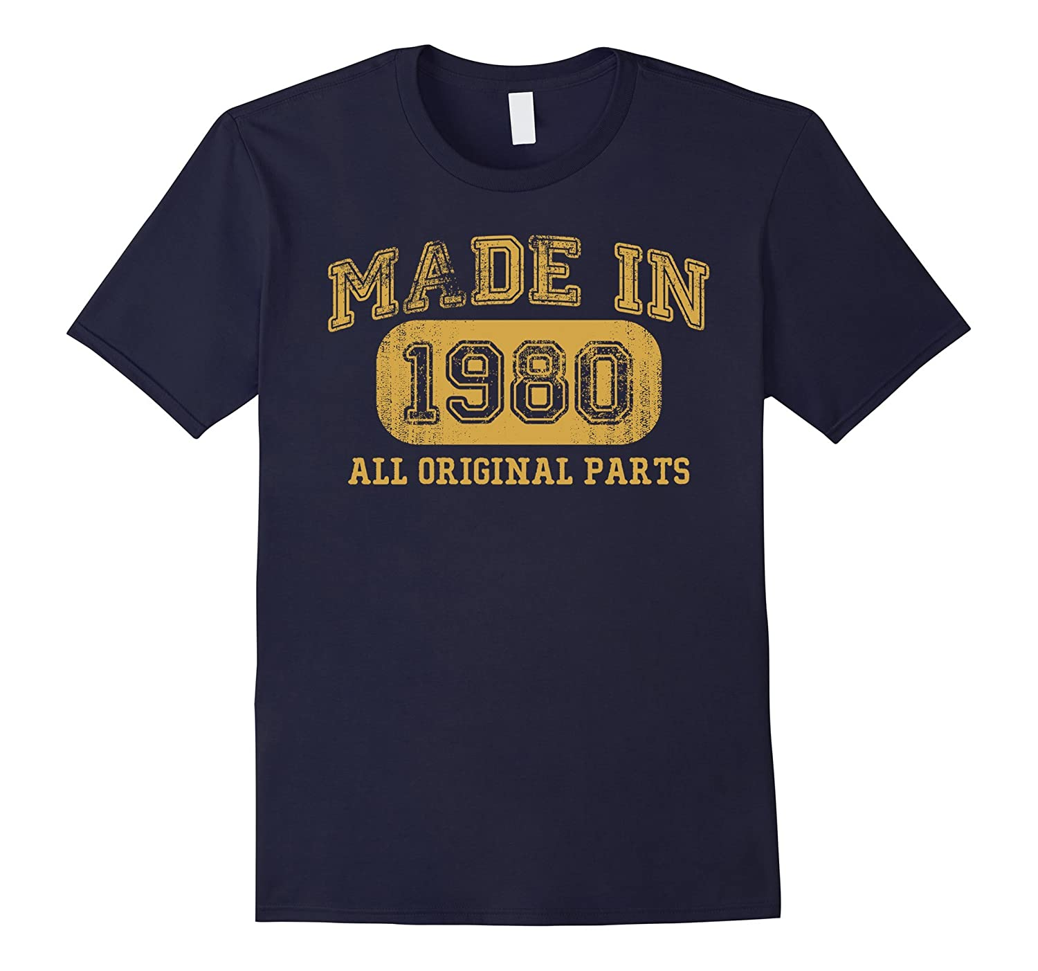 Born in 1980 Tshirt 37th Birthday Gifts 37 yrs Years Made in-TD