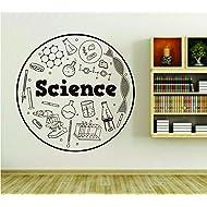 Science Lab Supplies School Teacher Wall Vinyl Decal Sticker Art Graphic Sticker