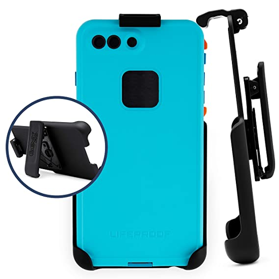 new product 93017 7ff17 Belt Clip Holster Compatible with LifeProof FRE Series - iPhone 6plus, 6s  Plus, 7 Plus, 8 Plus   Easy Fit   Slim Design   Built in Kickstand [case  not ...