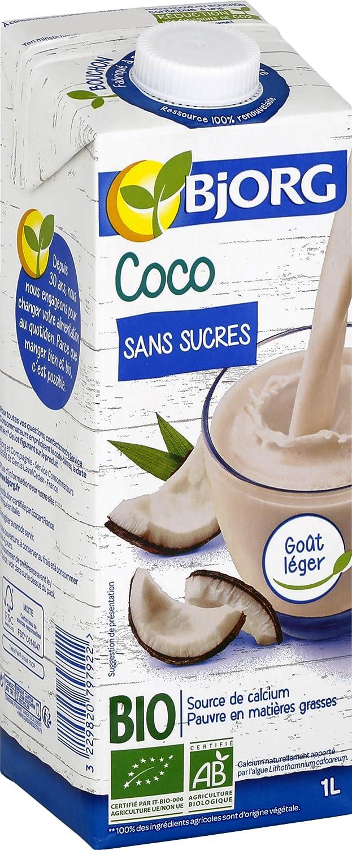 Bjorg Boisson Coco sans Sucres 1 L: Amazon.es: Amazon Pantry