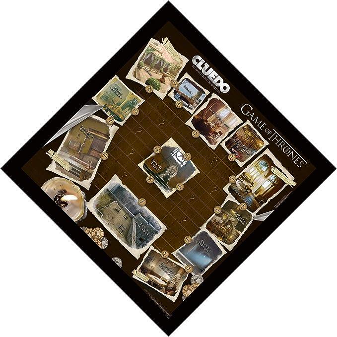 Winning Moves Cluedo Juego De Tronos (81335), multicolor, Miscelanea (ELEVEN FORCE: Amazon.es: Juguetes y juegos
