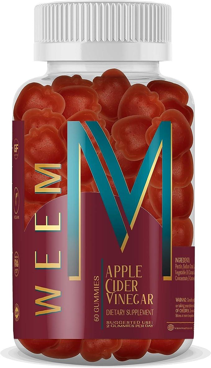 WEEM Apple Cider Vinegar Gummies