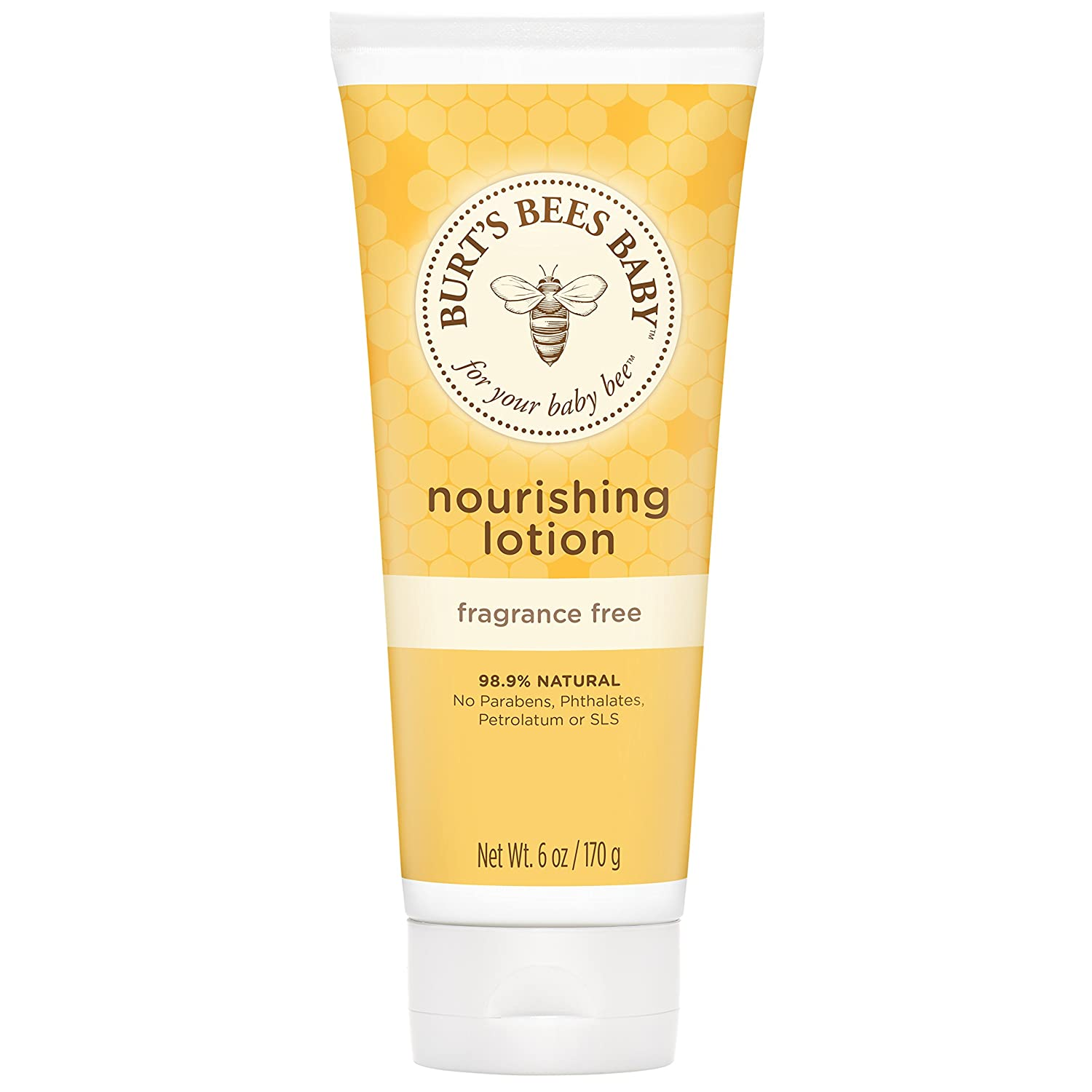 Burt's Bees Baby Nourishing Lotion, Calming Baby Lotion,6 Ounce (Pack of 3) Burt' s Bees Inc. LEPUSMRYC438