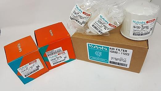 Kubota 77700-08714 ZD321 ZD321N - Kit de filtros Originales ...