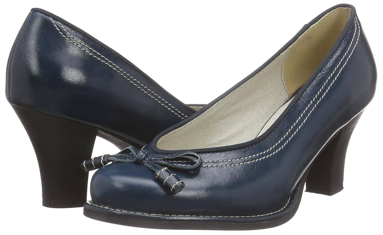 598007, Escarpins Femme, Bleu (Taupe), 38 EUAndrea Conti