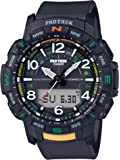 Casio Men's Pro Trek Bluetooth Connected Quartz Sport Watch with Resin Strap, 22.2 (Model: PRT-B50-1CR)