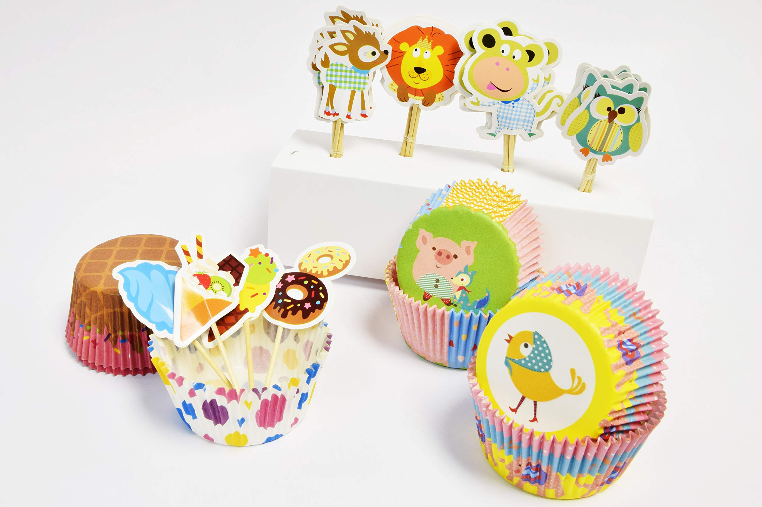 Cupcake Combo set (ice-cream + animal)