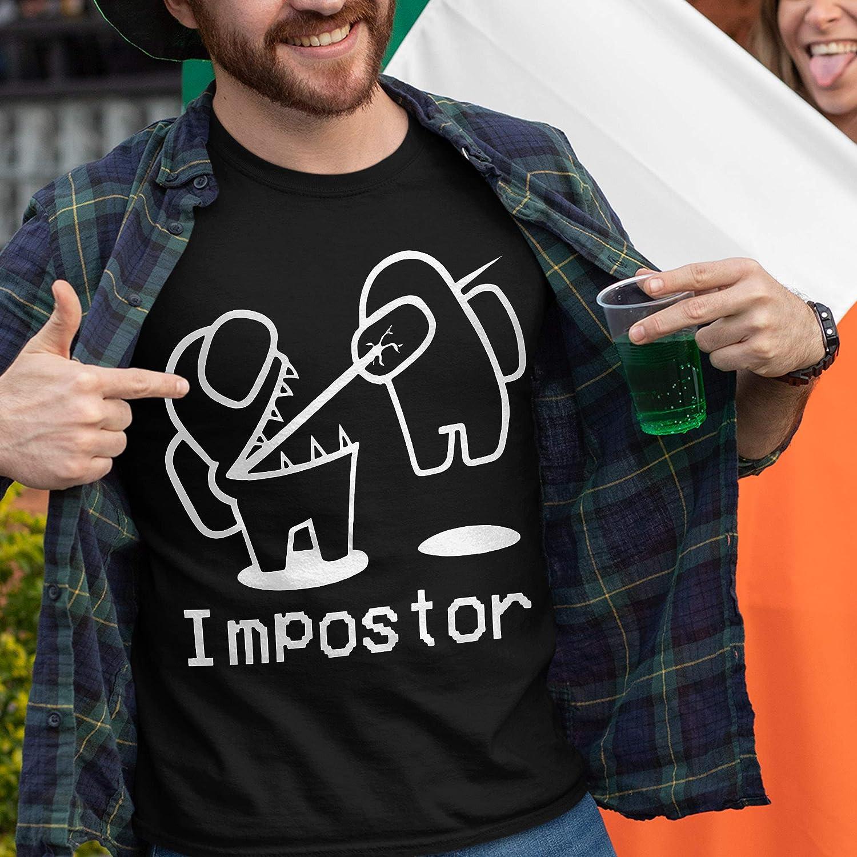 Among Us Impostor T Shirt Long Sleeve Sweatshirt Hoodie Amazon Co Uk Handmade
