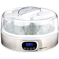 AmazonBasics - Yogurtiera con timer e 7 barattoli
