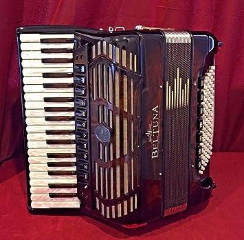 Nueva beltuna Piano acordeón Prestige IV compacto nogal lmmh ...