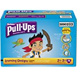 Pull-Ups Training Pants with Learning Designs for Boys, 2T-3T, 74 Count (Packaging May Vary)