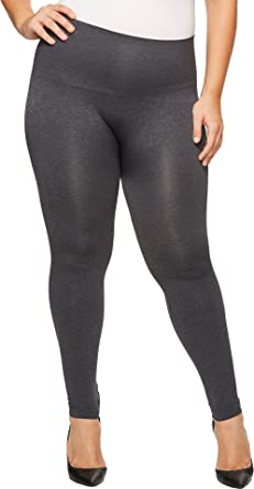 c84f4478b7 Image Unavailable. Image not available for. Color  SPANX Women s Plus Size  Look at Me Now Seamless Leggings ...