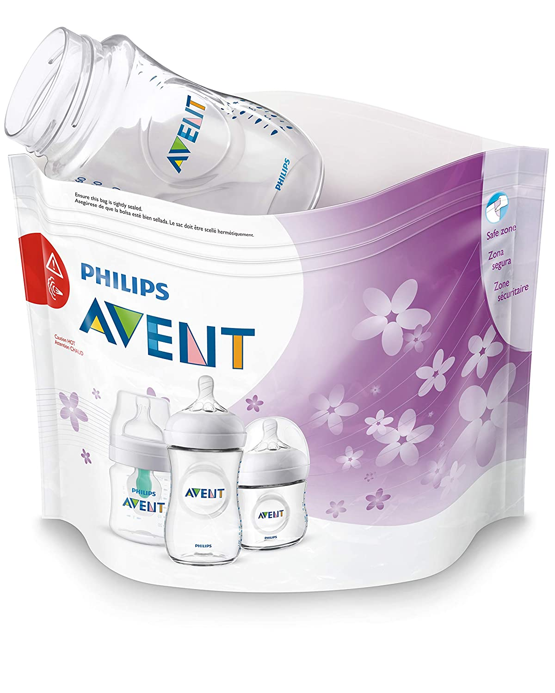 Philips AVENT Microwave Sterilizer Bags, 12pk, SCF297/06