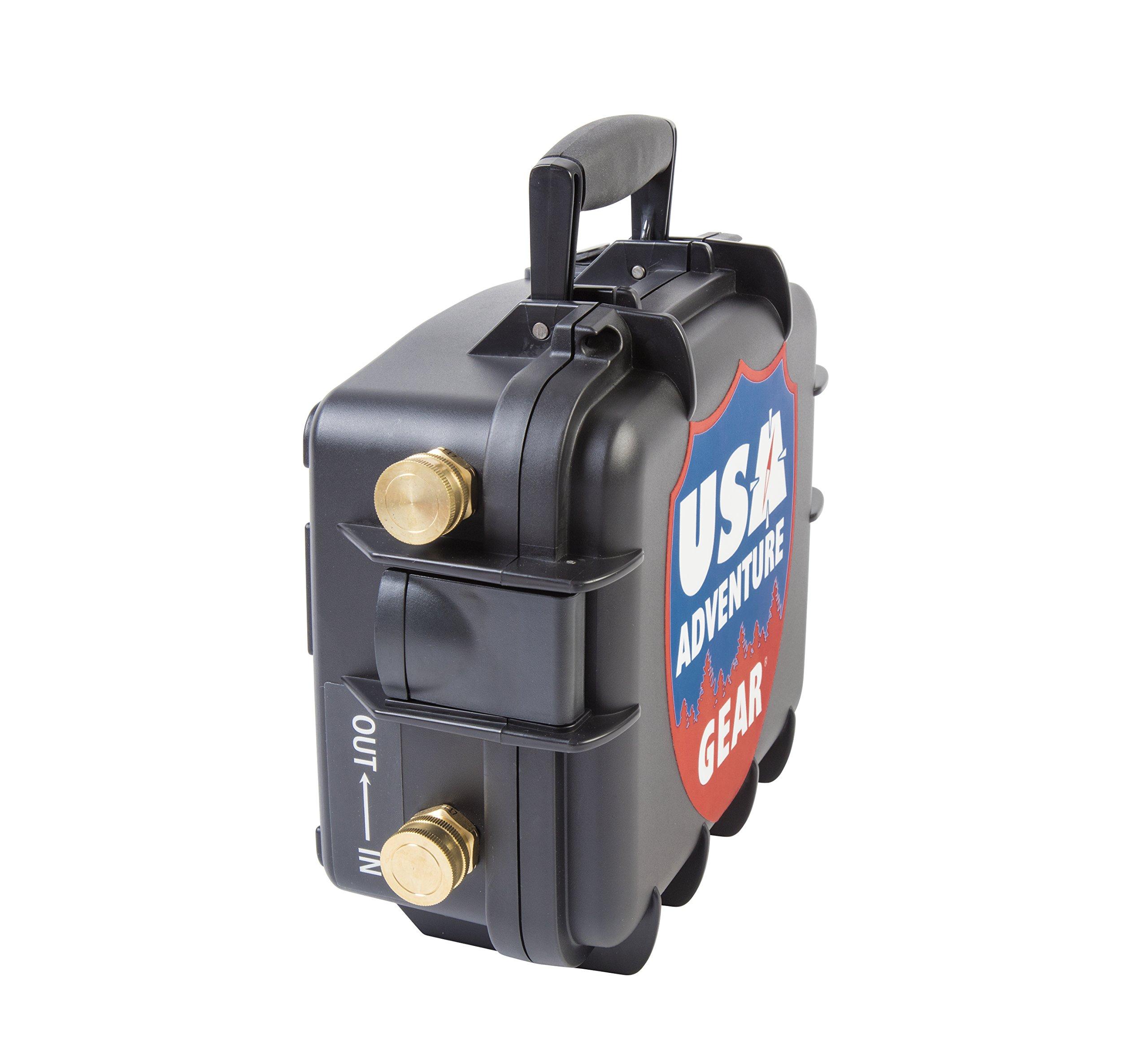 Glacier XE 12v Portable Water Pump featuring USA's 5300 ProGear Professional Grade Pump by USA Adventure Gear (Image #2)