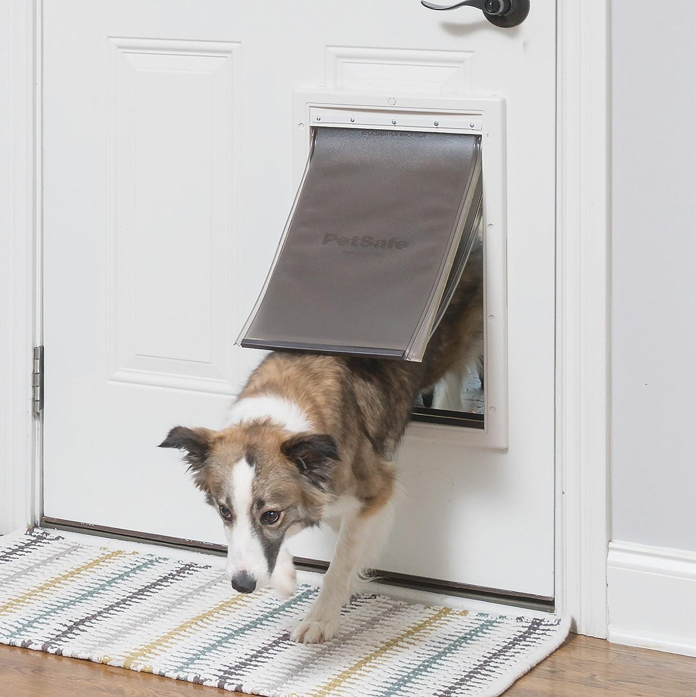 top electric pet doors namsan automatic plastic petsafe dog best screen review door