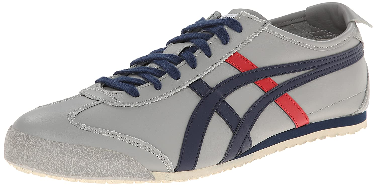 Onitsuka Tiger Mexico 66 Fashion Sneaker B00L8J6K3I 8 M US Women / 6.5 M US Men|Light Grey/Navy