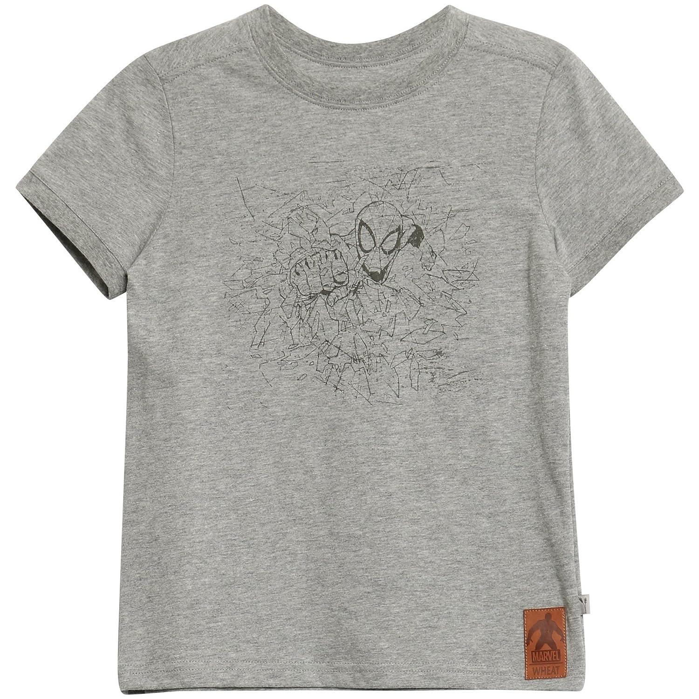 Wheat Spiderman Broken Glass, T-Shirt Bambino 2109-15