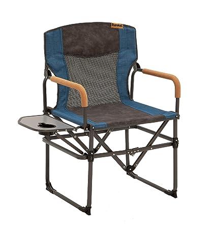 Amazon.com: Eureka. Silla de camping para director con mesa ...